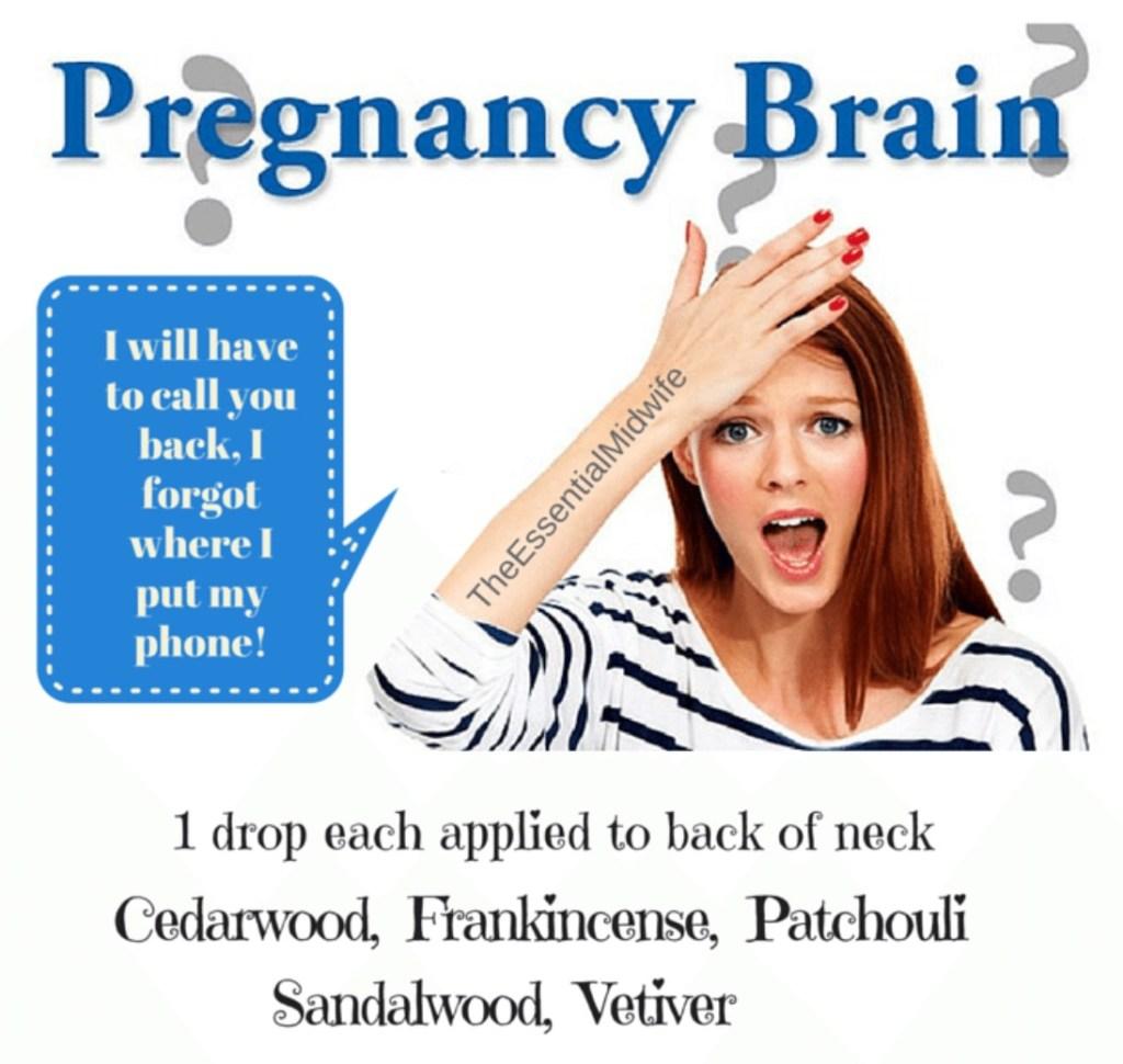 Birth Info Graphic Pregnancy Brain