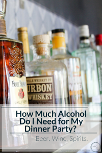How Much Alcohol Do I Need for my Dinner Party
