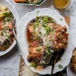 Full Menu | Chicken Cacciatore + Roasted Carrot and Farro Salad