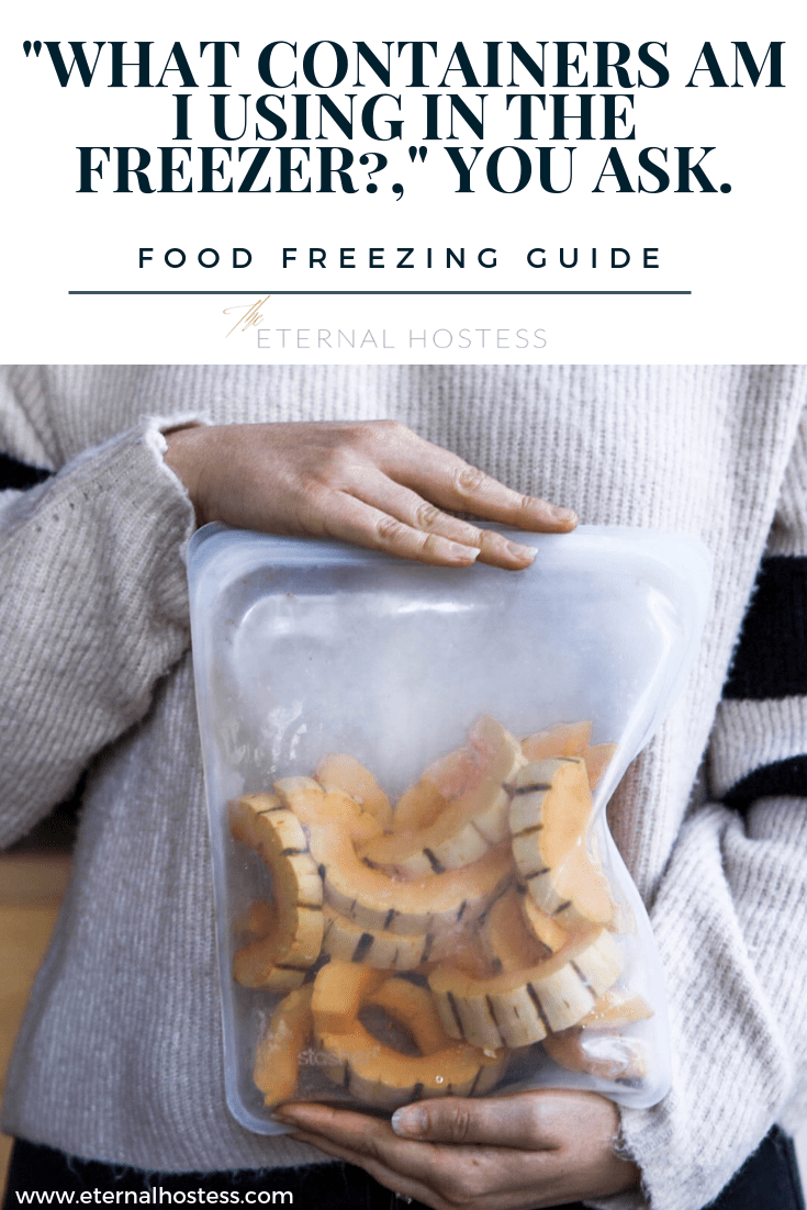 """What Containers am I using in the Freezer?,"" you ask. 