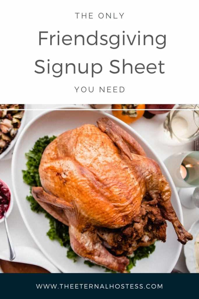 Blog Header Graphic for The Only Friendsgiving Signup Sheet You Need