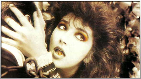 Kate Bush was predictably delighted to be on The European Perspective again.