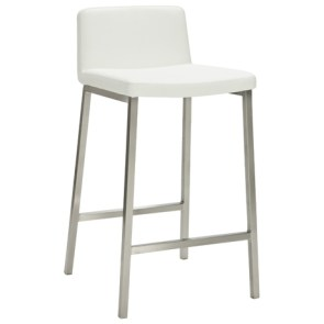 Dry bar stool white