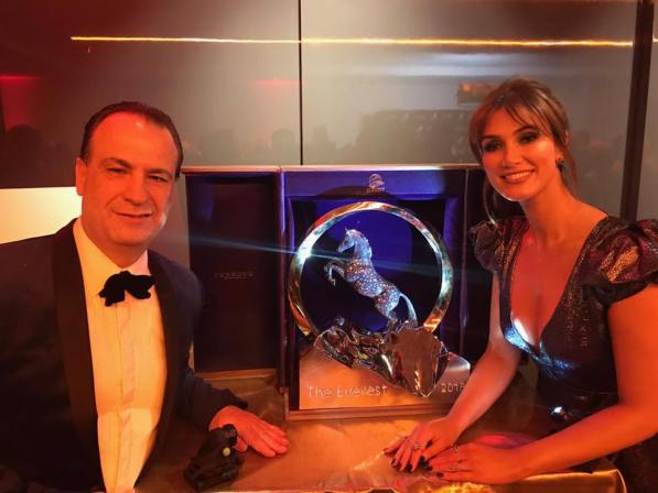 The Everest Trophy Sparkles At G'Day USA Gala