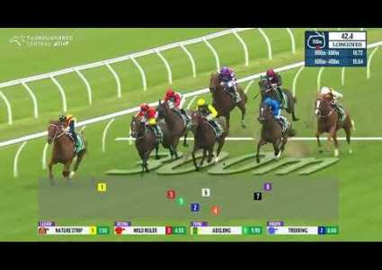 Nature Strip wins 2021 Concorde Stakes
