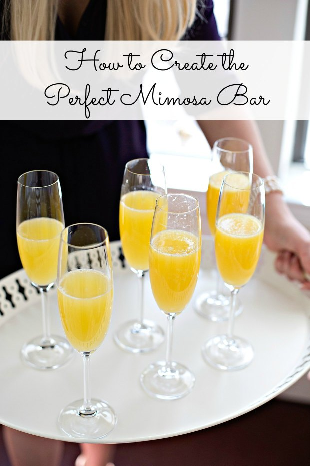 How to Create the Perfect Mimosa Bar