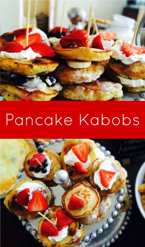 Fruit Pancake Kabobs