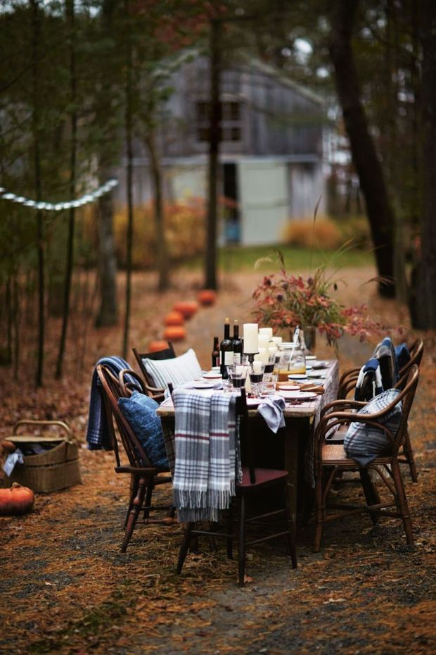 Outdoor Fall Tablescape Camille Styles