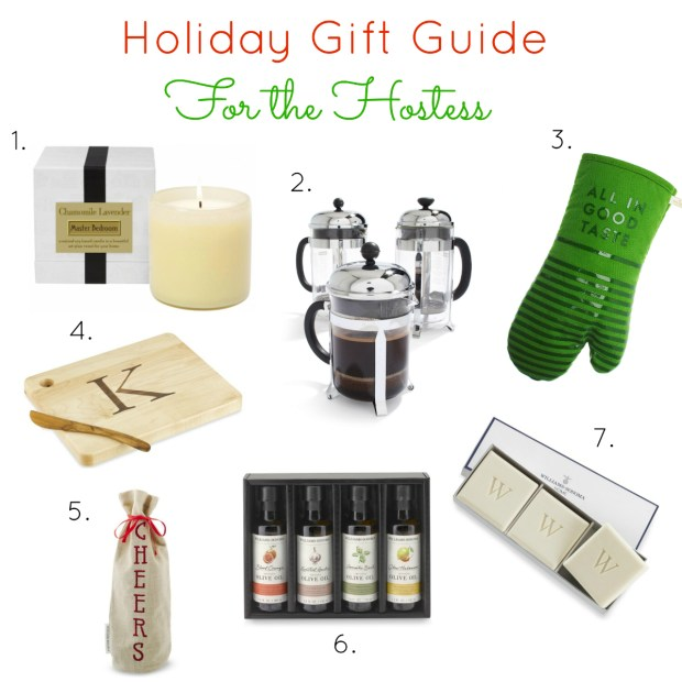 Holiday Gift Guide For the Hostess v3
