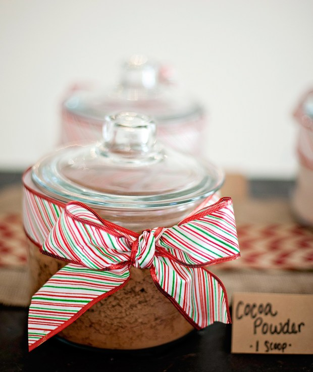 Hot Chocolate Mason Jar - Cocoa Powder