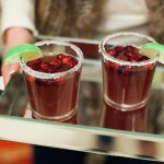 Holiday Cranberry Margaritas