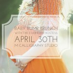 Baby Bump Brunch with Maxwell + Gray!