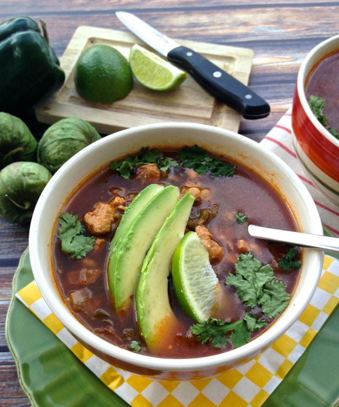 Spiced Pork Posole on www.mybottomlessboyfriend.com