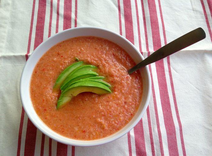 Classic Gazpacho from www.mybottomlessboyfriend.com