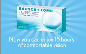 Ultra, dry eyes, digital devices, contact, Bausch+lomb