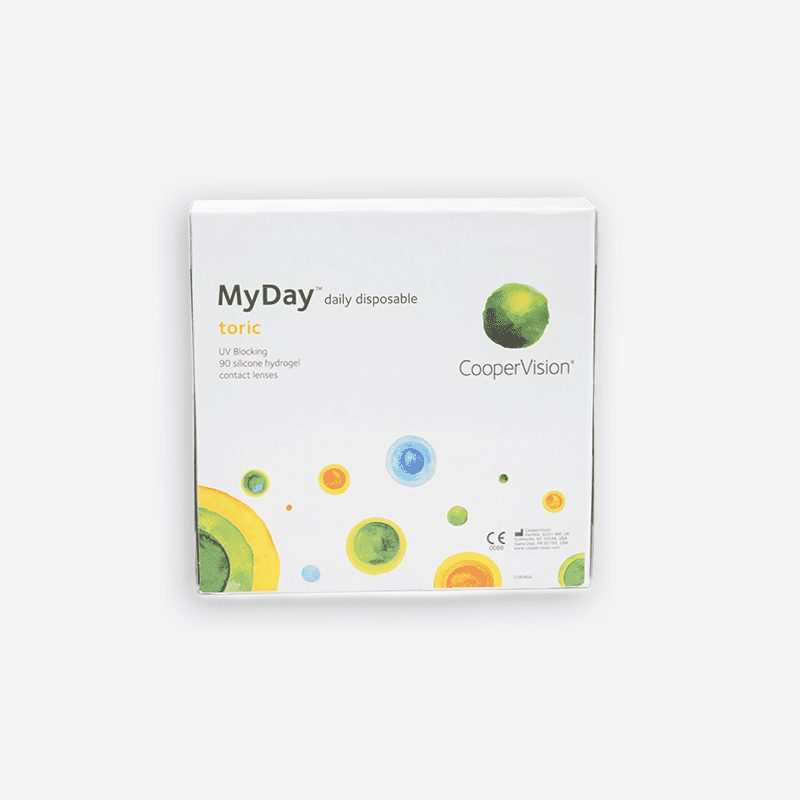 coopervision-MyDay toric Daily 90 pack-eye lab