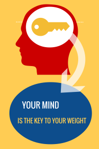 THE MIND IS THE TRUE KEY TO WEIGHT LOSS