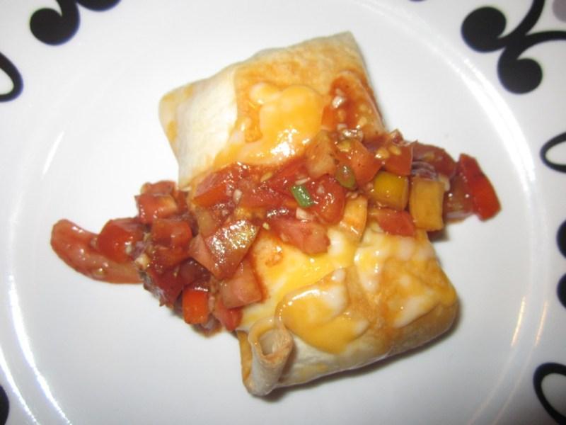 Italian Popover With Bruschetta