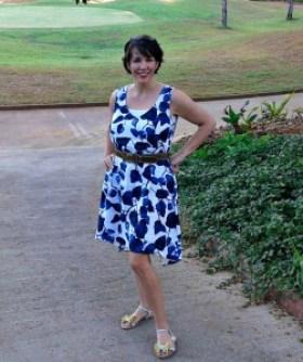 A Cool Linen Dress