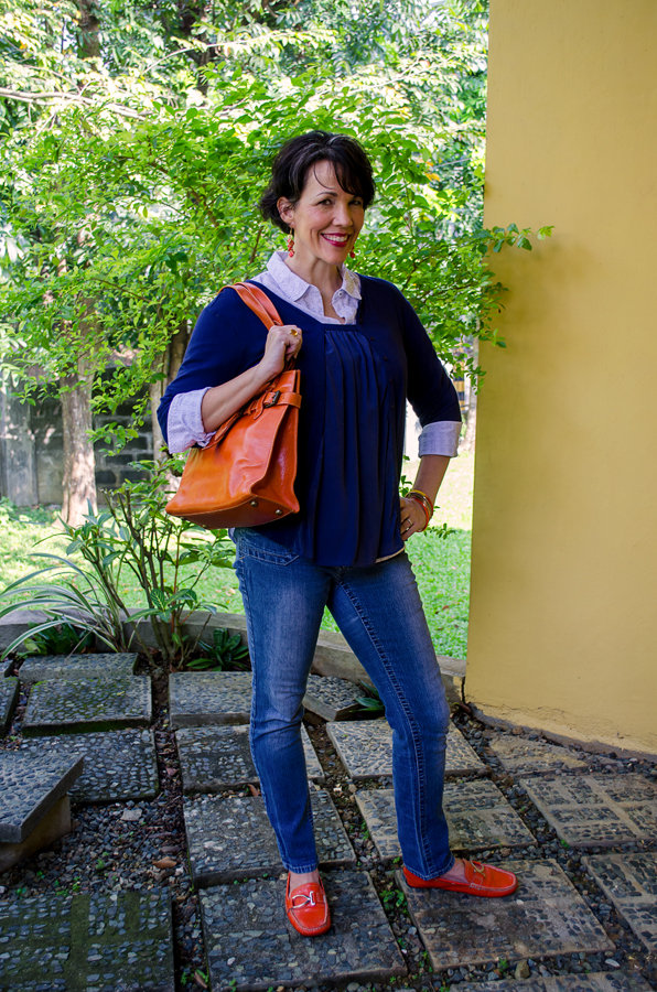 Orange Accessories For A Pop Of Color