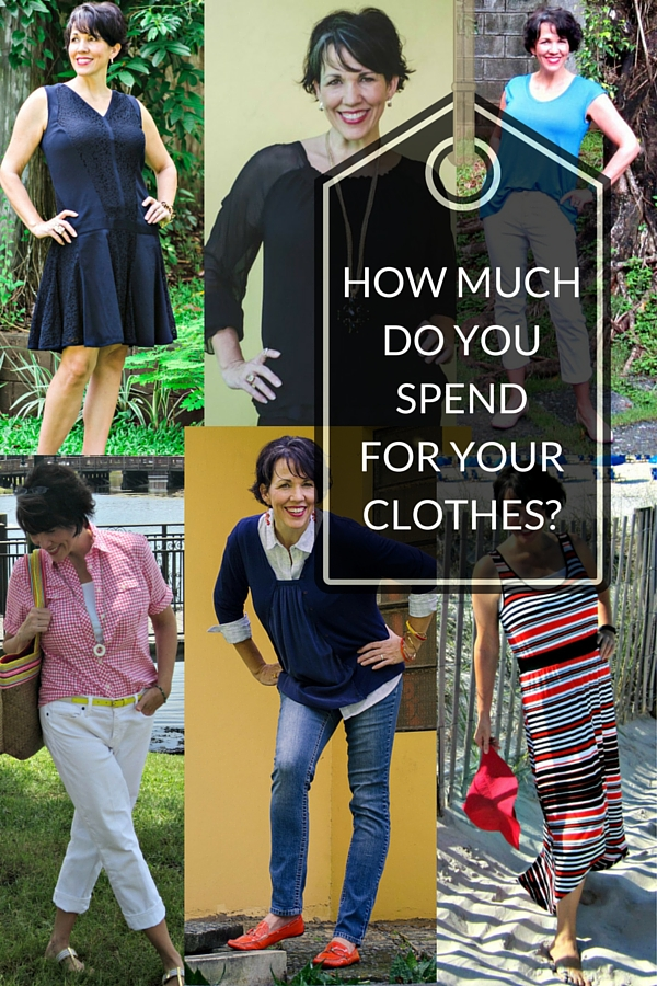 How Much Do You Spend For Your Clothes