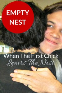 Empty Nest - When The First Chick Leaves The Nest