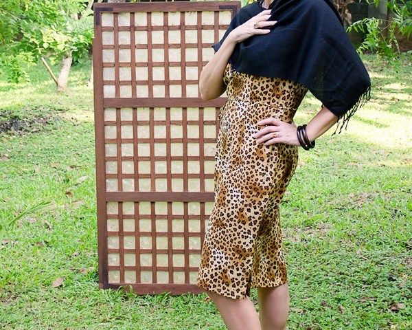 Leopard Print Dress, fashion over 40