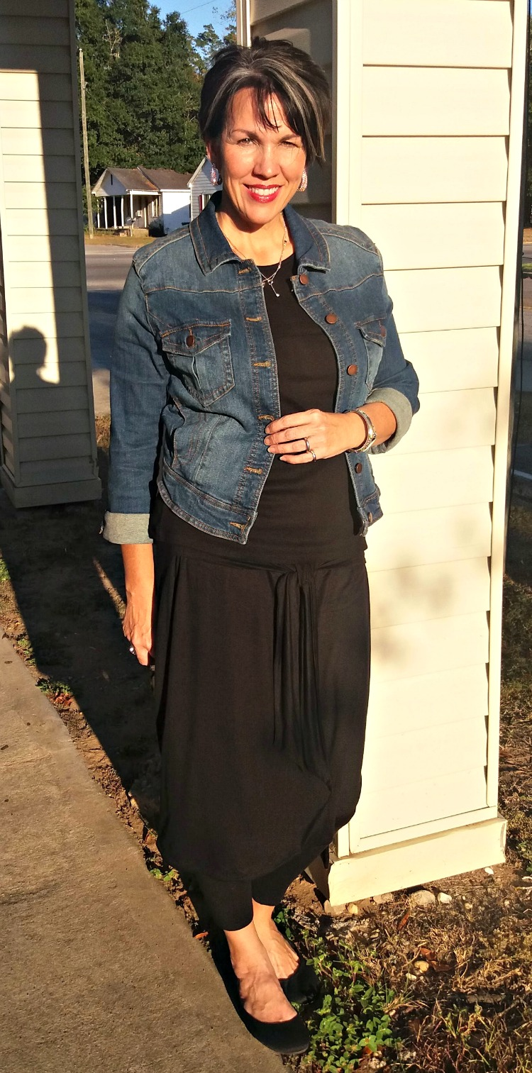 Winter Layering Skirt Over Leggings The Fabulous Journey