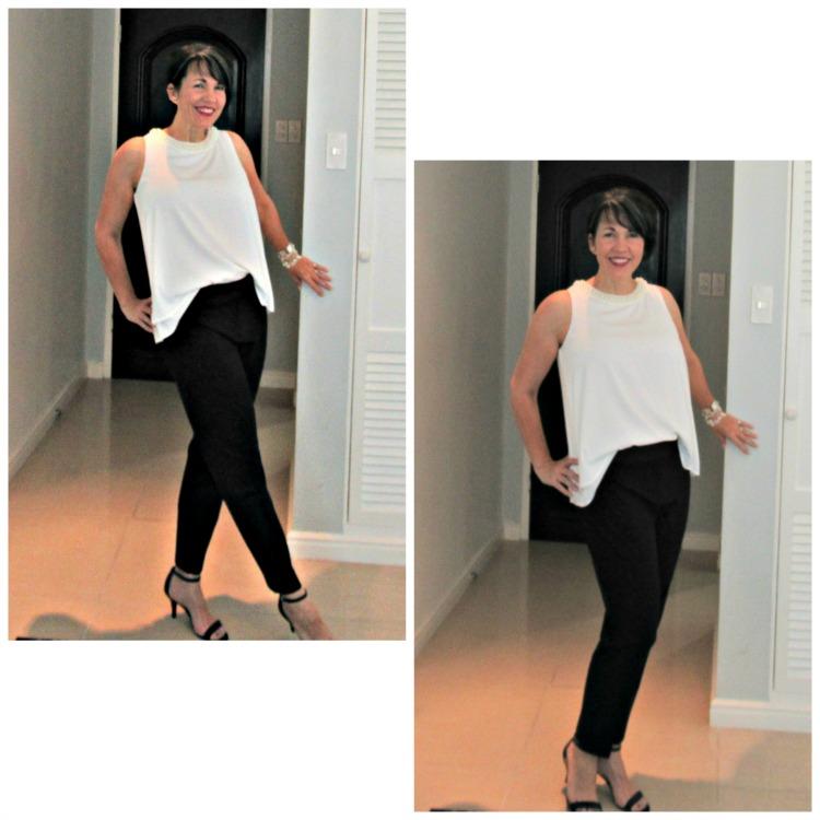 black pants wardrobe staple