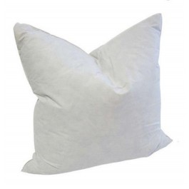 12 x 12 square goose feather down pillow form insert sku u1691