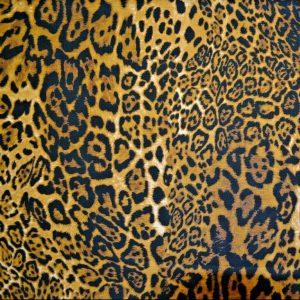 leopard print poplin
