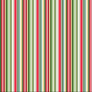multi coloured christmas stripe