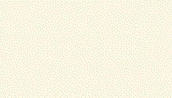 metallic spot print on cream background fabric