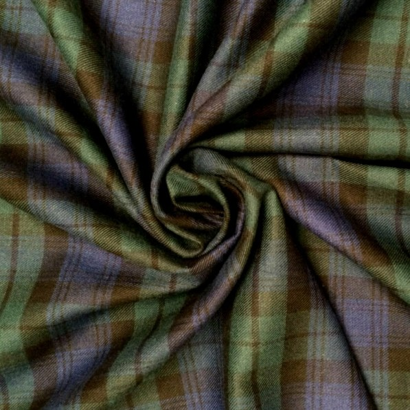 Black Watch Tartan Brushed Cotton