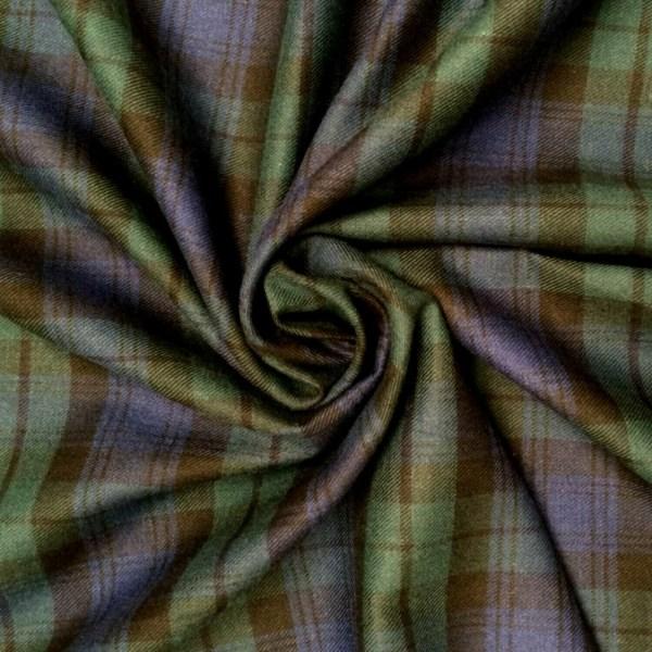 Black Watch Tartan Brushed Cotton