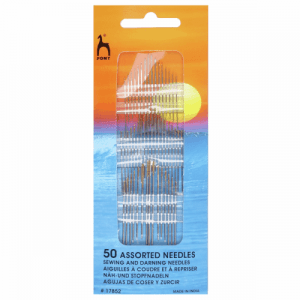 Hand Sewing Needles: Assorted: Gold Eye: Pack of 50