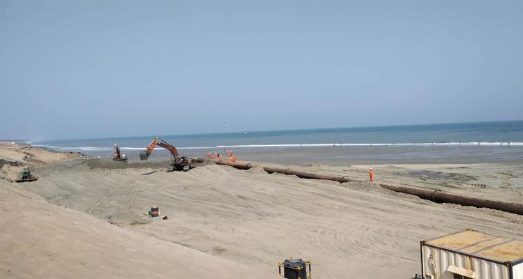 Gopalpur Port completes 5 km beach front nourishment