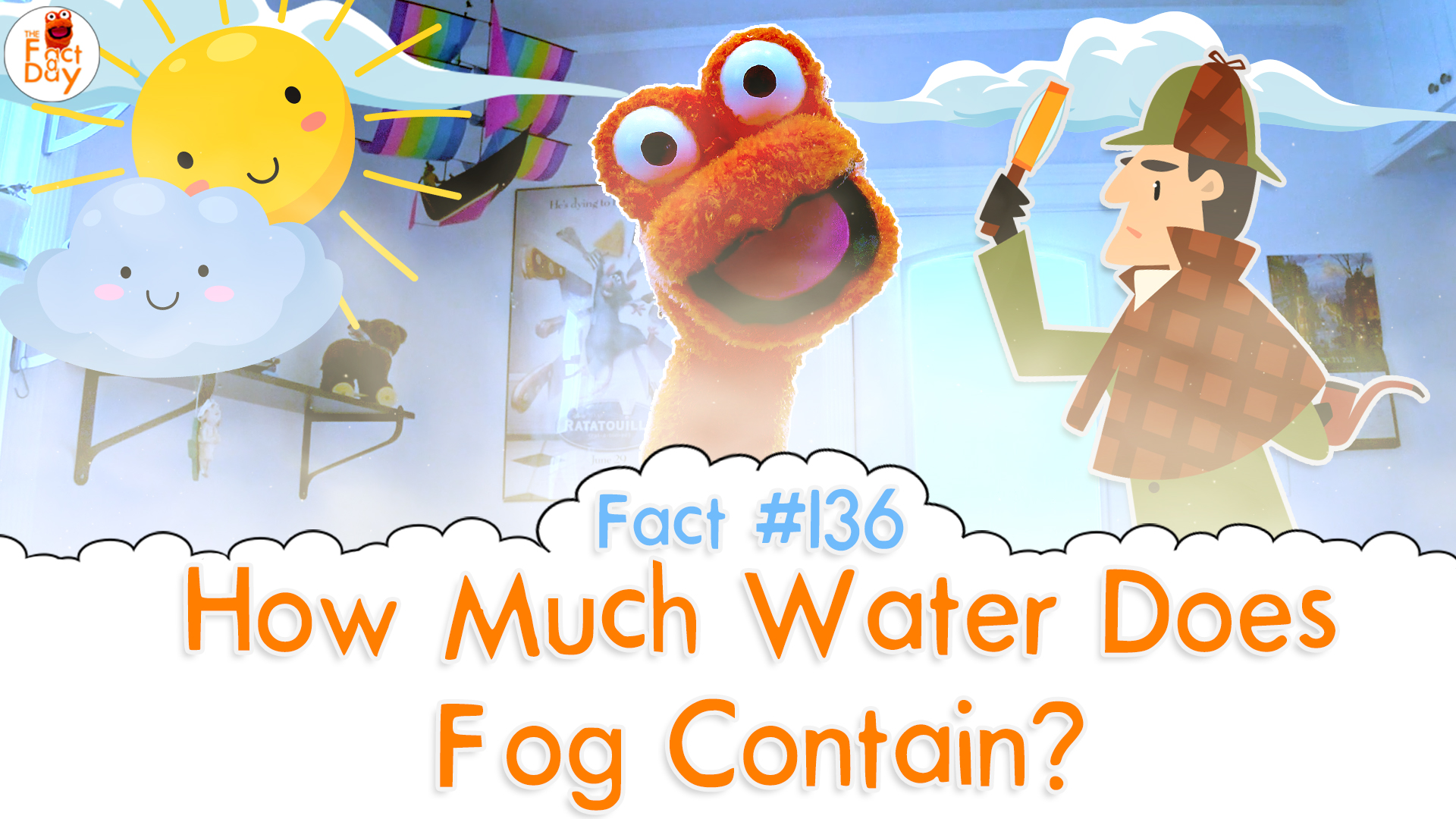 The Fact a Day - How much water is in fog