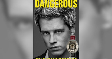 Milo Yiannopoulos' Book to Have 'Off Switch'