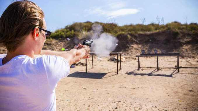 Shooting Range, Las Vegas in Hindi