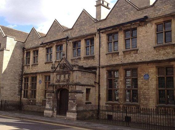 A escola do rei em Grantham