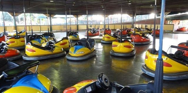 Bumper cars weren't originally made for steering.