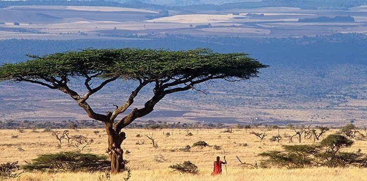 Kenya is a pretty new country.