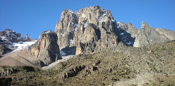 Kenya is named after a mountain.