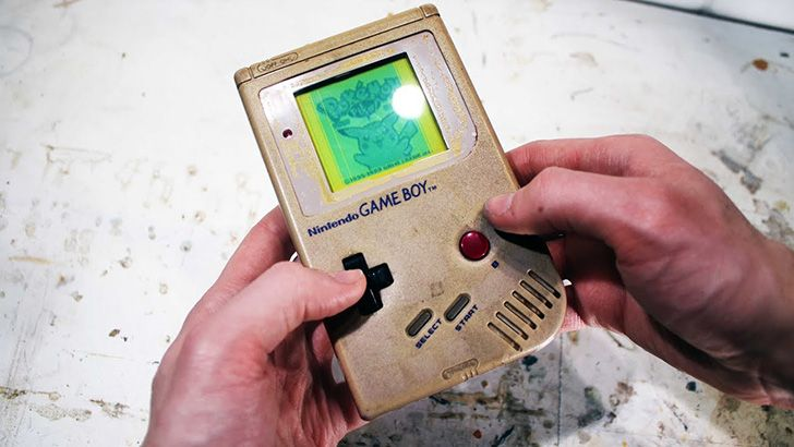 The Nintendo Game Boy went to space.