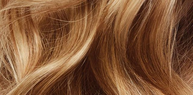 Human hair is both stretchy and strong.