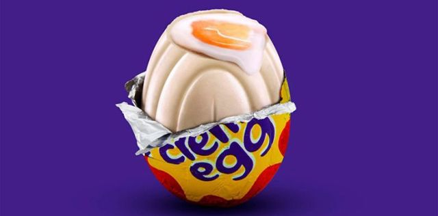 White Chocolate Cadbury Creme Egg