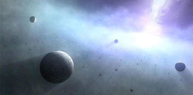 Matter approaching a black hole