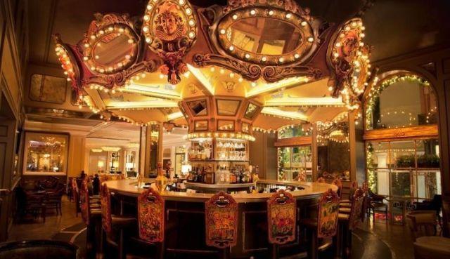 Monteleone Hotel's creepy bar