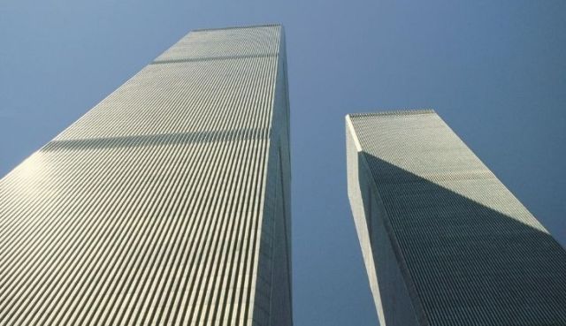 The Twin Towers were built with a tube design to allow more open planning